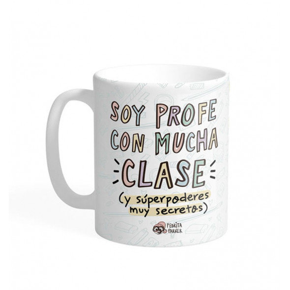 Taza ceramica profesor unisex