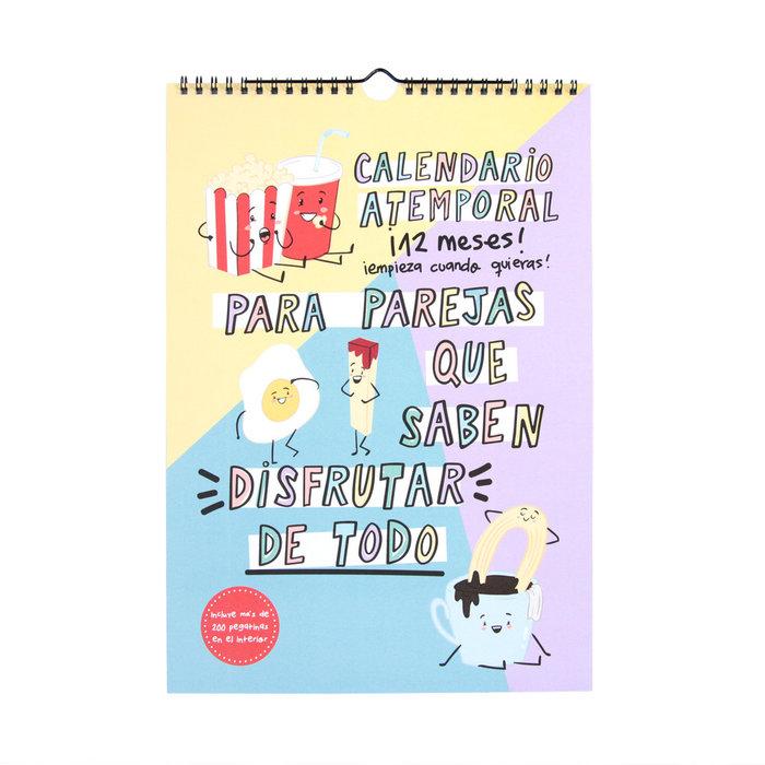 Calendario atemporal para parejas pedrita parker