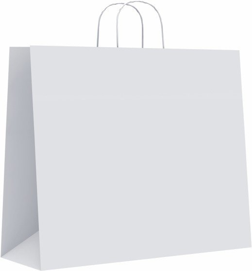 Bolsa celulosa l 32+14x40 blanco