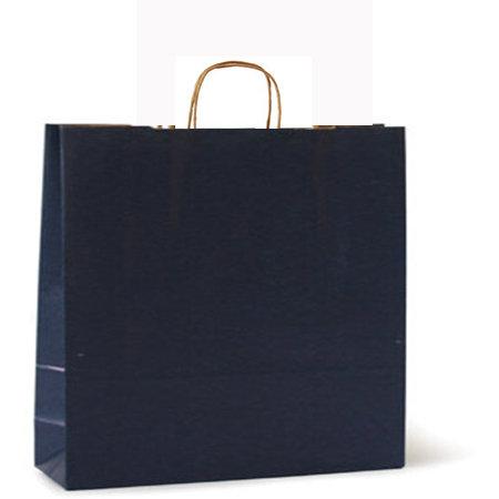 Bolsa kraft xl 42+19x48 azul