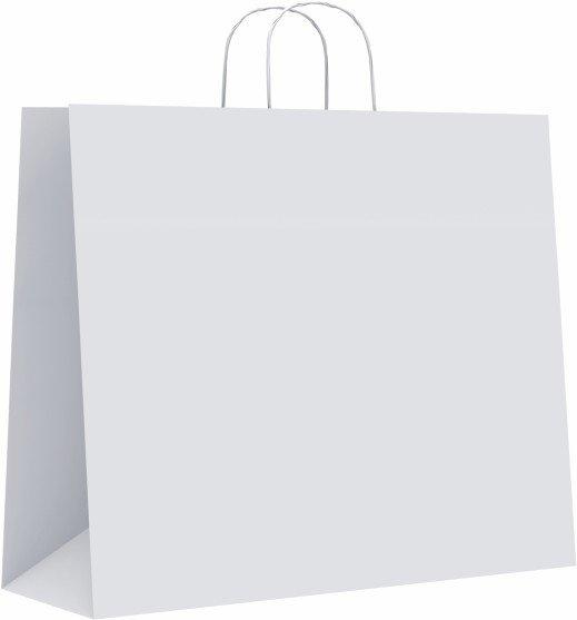 Bolsa celulosa xl 42+19x48 blanco