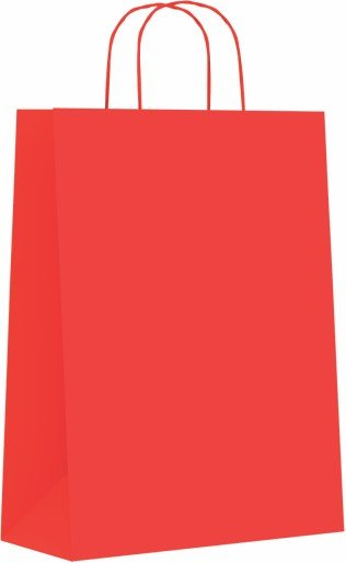 Bolsa celulosa m 27+12x37 rojo