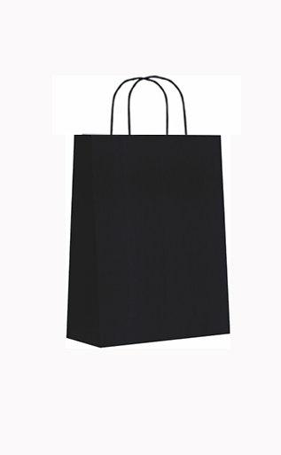 Bolsa celulosa xs 18+8x24 negro