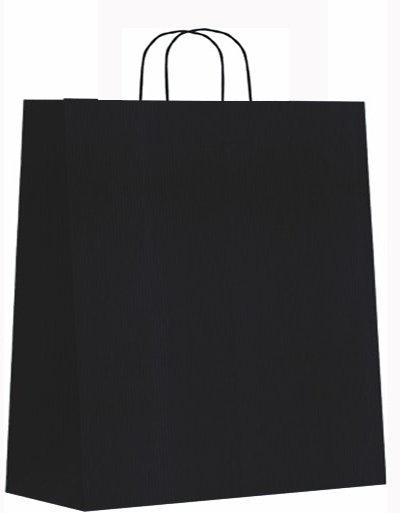 Bolsa celulosa xl 42+19x48 negro