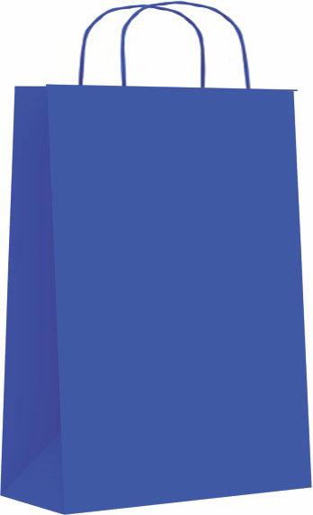 Bolsa celulosa xs 18+8x24 azul