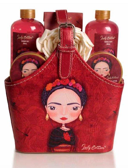 Set de baño bolso lady cotton frida