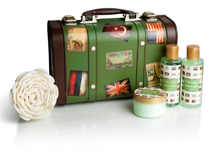 Maleta viaje vintage collection