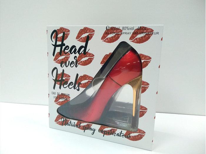 Perfume para mujer zapato rojo