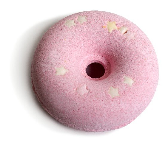Bomba de baÑo 70 g donuts fragancia fresa