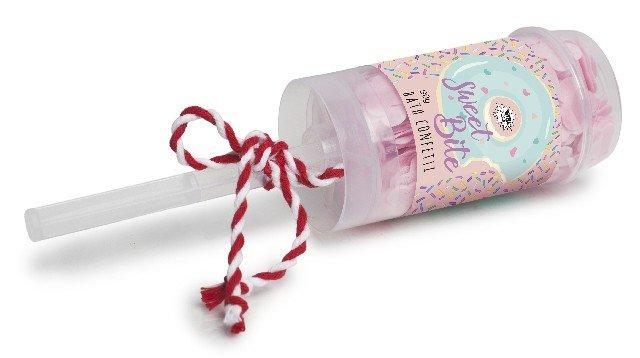 Confeti de baÑo en tubo