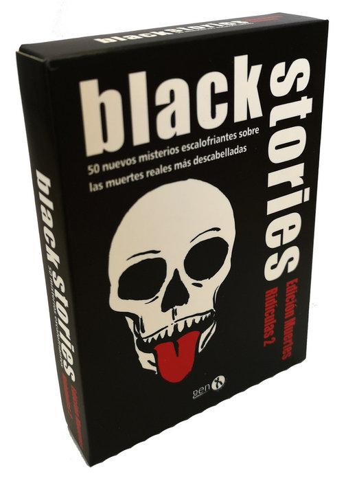 Juego de mesa black stories: muertes ridiculas 2