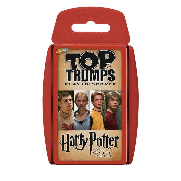 Juego top trumps harry potter y el caliz de fuego