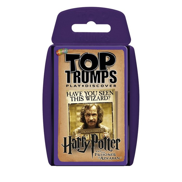 Juego top trumps harry potter y el prisionero azkaban