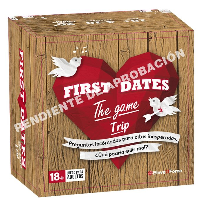 Juego de mesa first dates the game edicion bolsillo