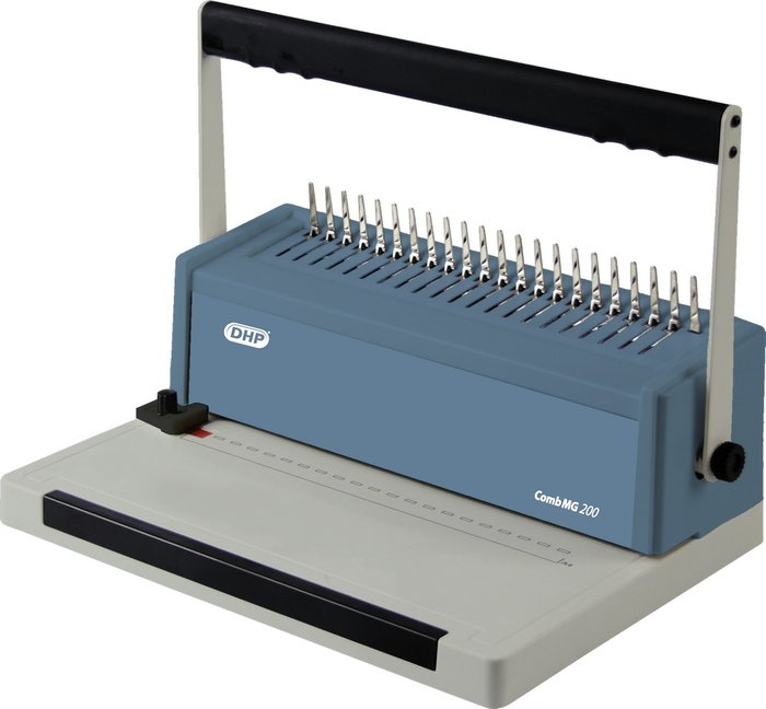 Encuadernadora canutillo manual semipro 13016 comb mg 200