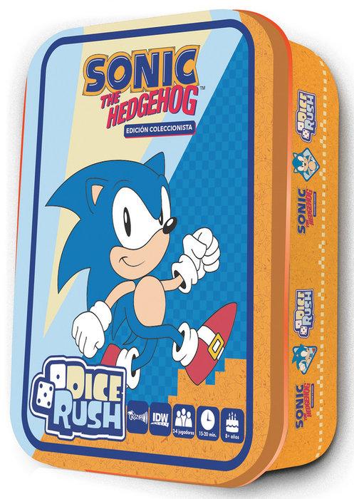 Juego de mesa sonic the hedgehog: dice rush