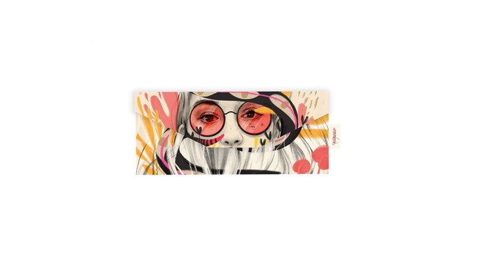 Funda de gafas + paÑo naranjalidad