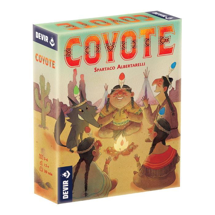 Juego de mesa coyote