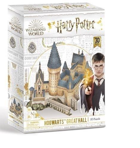 Puzzle 3d harry potter gran hall de hogwarts