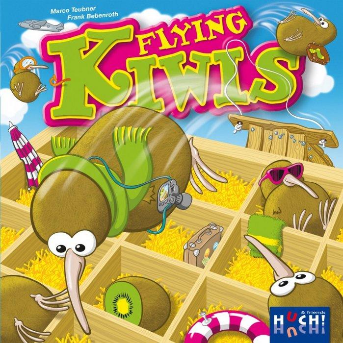 Juego de tablero kiwis voladores