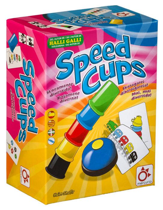 Juego de accion y reflejos speed cups