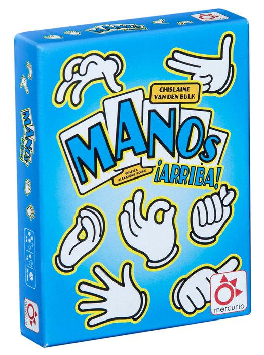 Juego de cartas manos arriba