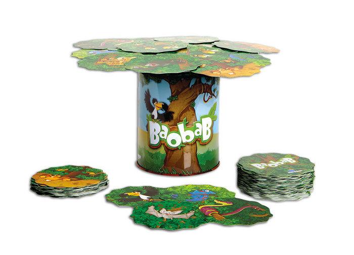 Juego de cartas baobab