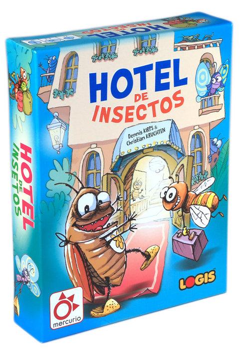 Juego de cartas hotel de insectos