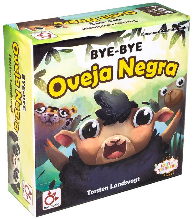 Juego de cartas bye-bye oveja negra