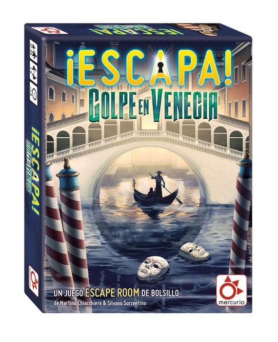 Juego de escape escapa golpe en venecia