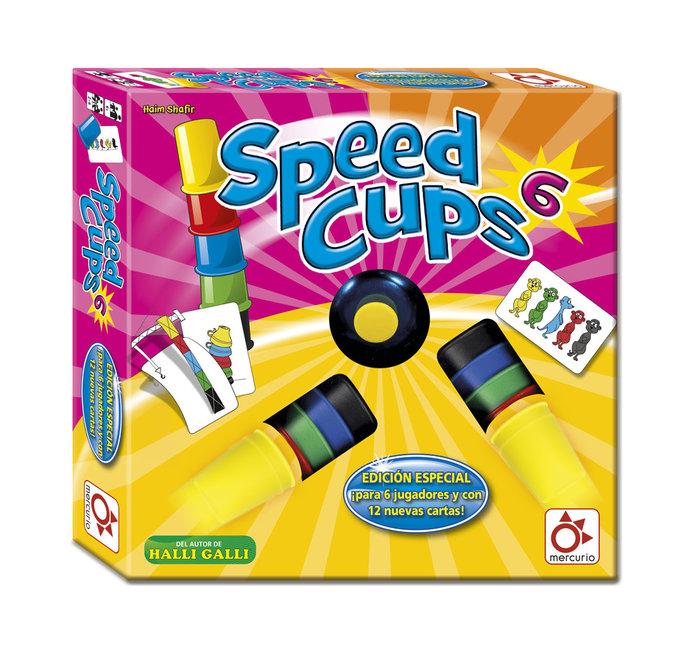 Juego de accion y reflejos speed cups 6