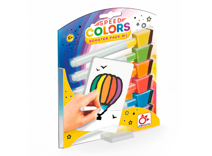 Juego educativo speed colors kit de expansion nº 1