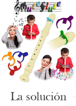 Sordina muteflute para flauta dulce 12 un