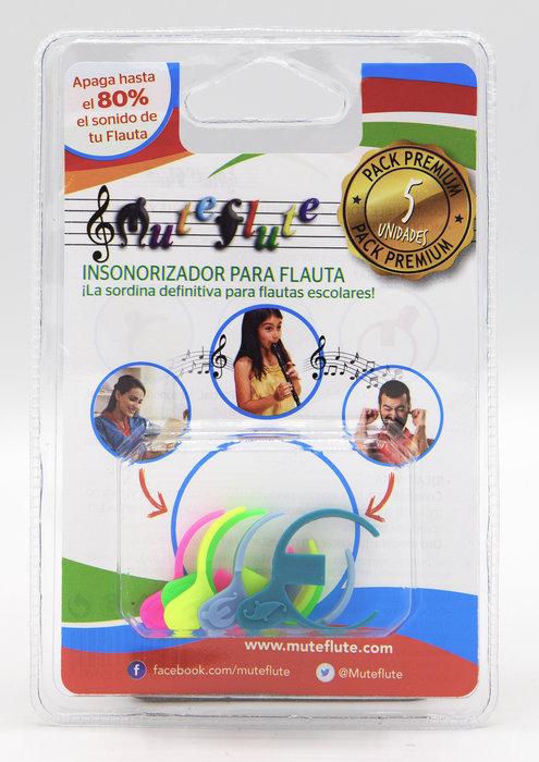 Sordina muteflute para flauta dulce blister 5