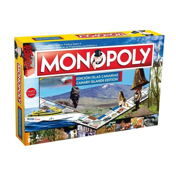 Juego de mesa monopoly islas canarias