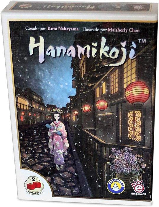 Juego de mesa hanamikoji