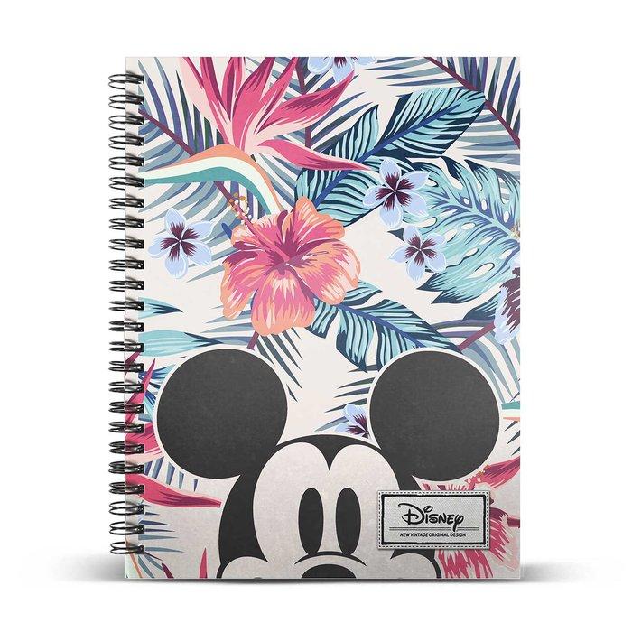 Cuaderno cuadricula a5 mickey mouse eden