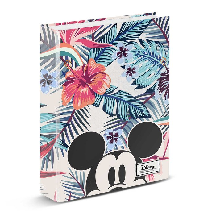 Carpeta 4 anillas mickey mouse eden