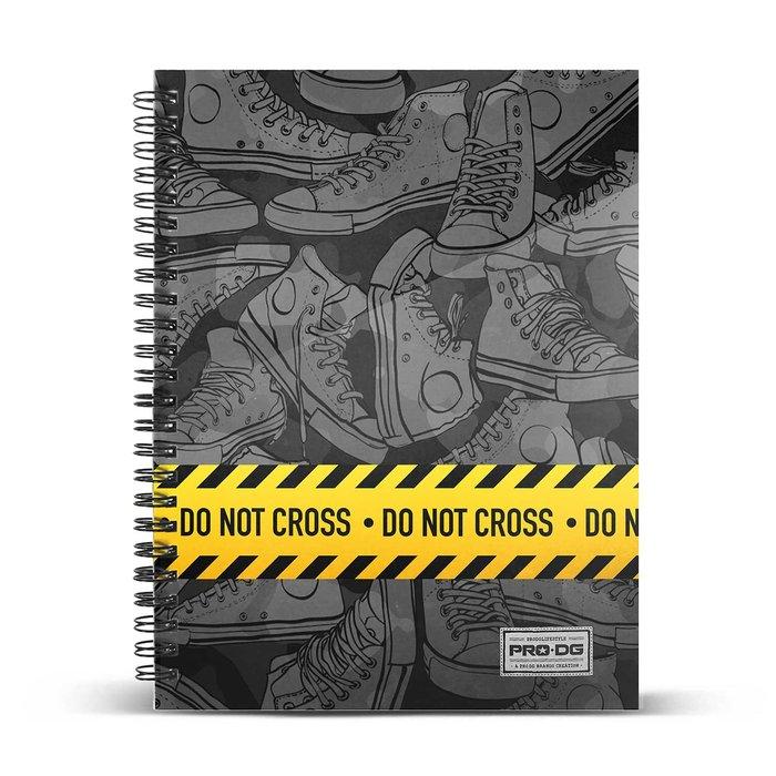 Cuaderno cuadricula a5 prodg do not cross