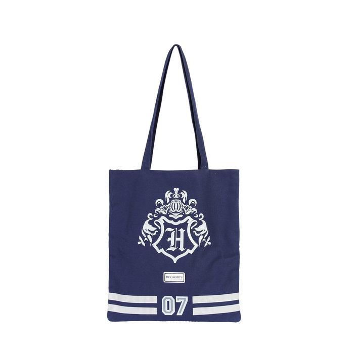 Bolsa de tela shopping harry potter blue