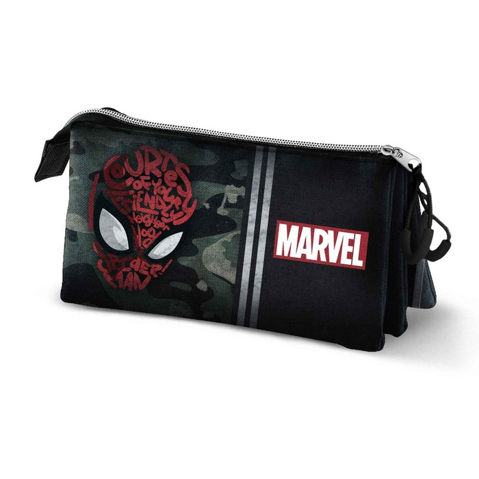 Estuche portatodo triple hs spiderman spidey