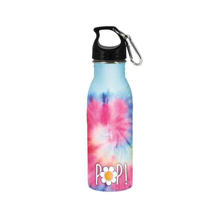 Botella de agua oh my pop! tie dye
