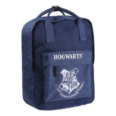 Mochila casual con asas harry potter con escudo hogwarts