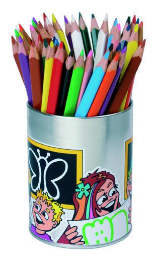 Lapices color express triple estuche 48 unidades