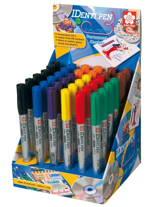 Lapiz marcadoridenti-pen display 36