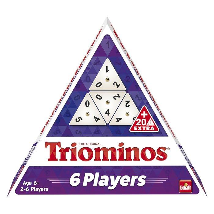 Juego de mesa triominos 6 jugadores
