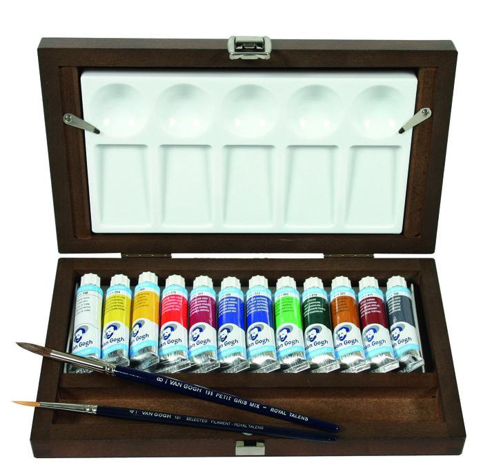 Acuarela van gogh tubo 10 ml caja 12 colores