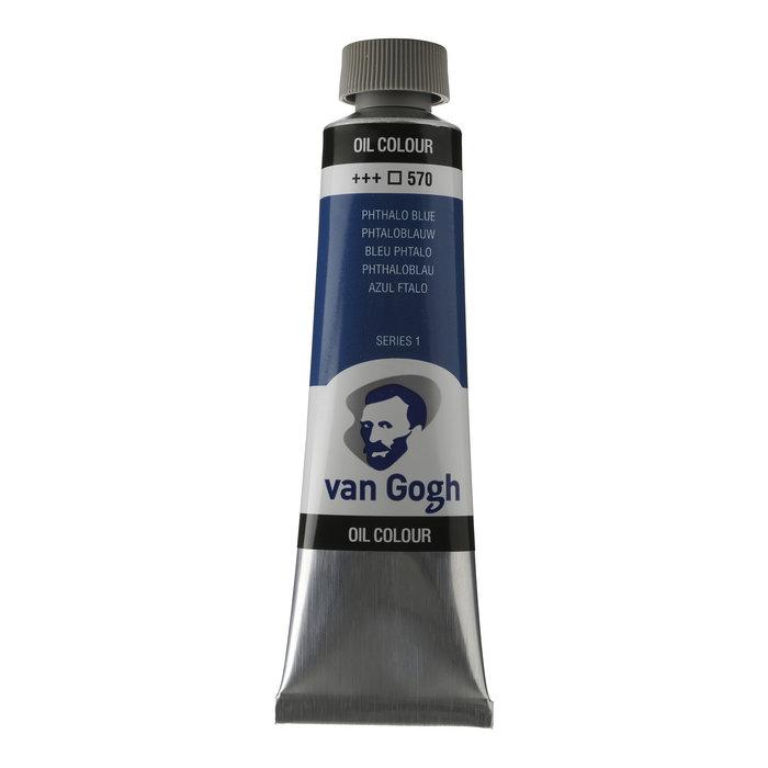 Pintura oleo van gogh 40ml azul ftalo