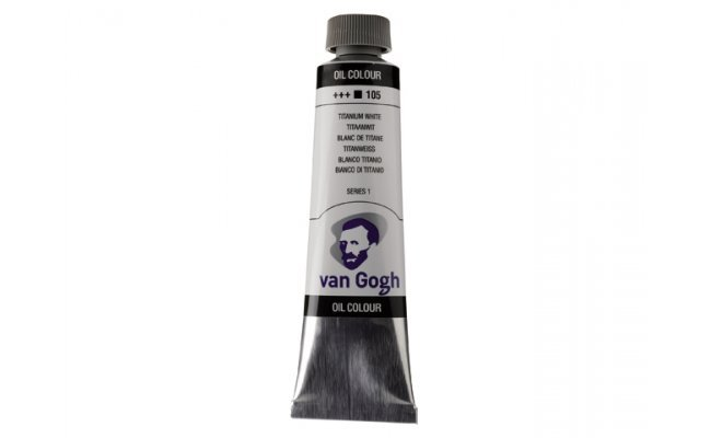 Pintura oleo van gogh 40ml blanco titanio