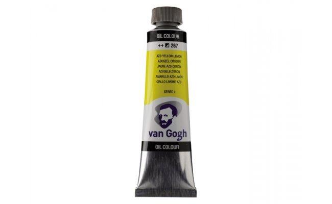 Pintura oleo van gogh 40ml azo amarillo limon